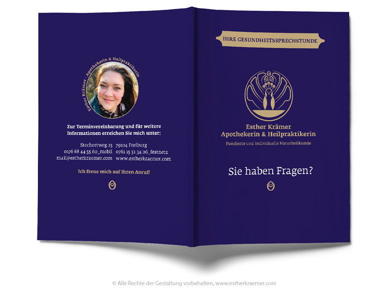 Visitenkarte Esther Krämer, Freiburg